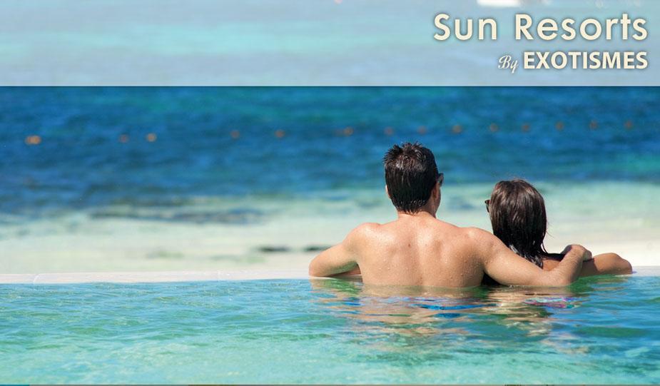 Sun resorts By Exotismes : Les plus beaux hôtels de l'Ile Maurice et des Maldives pour des séjours et des vacances à L'Ile Maurice et aux Maldives