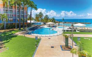 COMBINÉ 2 ILES : GUADELOUPE + MARTINIQUE : Hôtels Karibéa Le Clipper + Karibéa Amandiers 14 nuits
