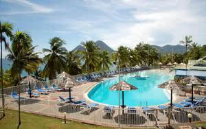 COMBINÉ 2 ILES : MARTINIQUE + SAINTE LUCIE Résidence Marine + Blu  St Lucia 14 nuits