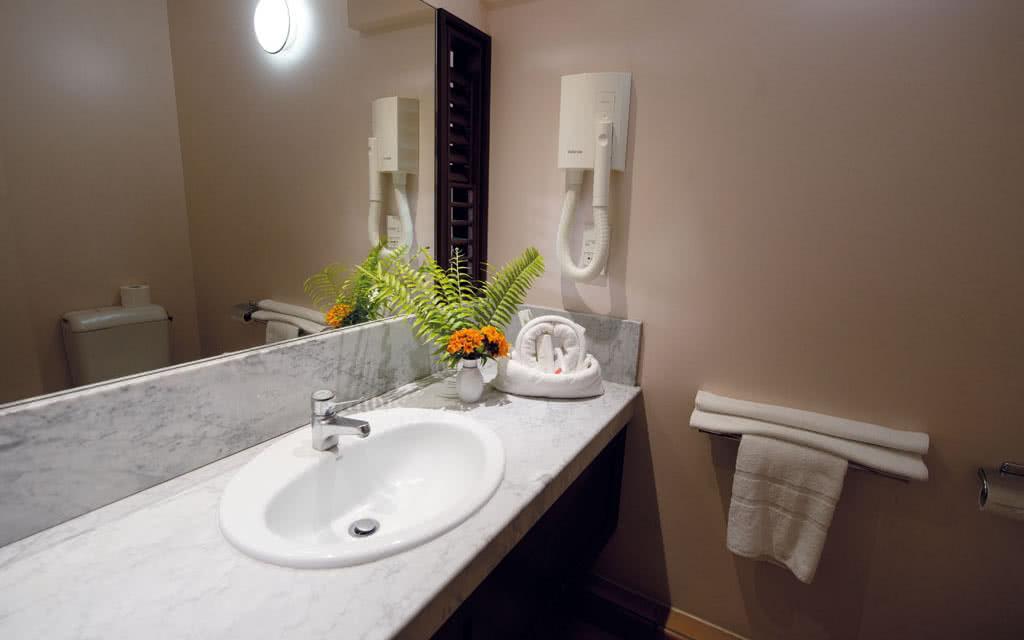 Martinique salle bain hotel goelette Résidence La Goelette
