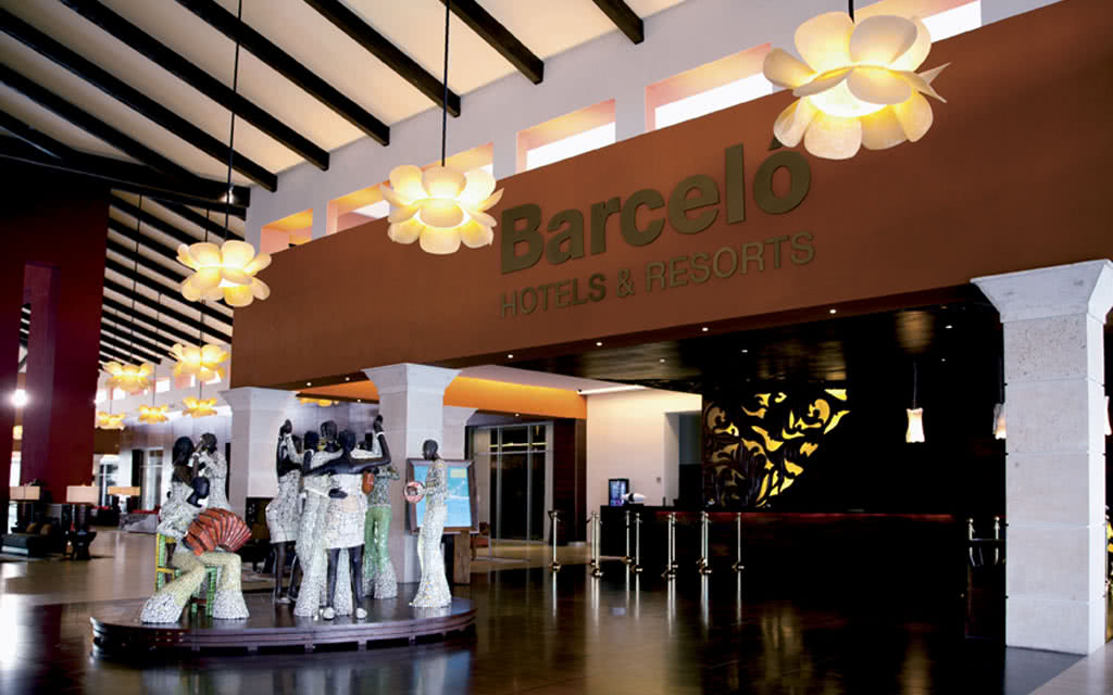 Hotel barcelo bavaro palace deluxe 5 bavaro republique for Barcelo paris hotels