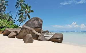 La Digue, un des paradis pr�serv� des Seychelles
