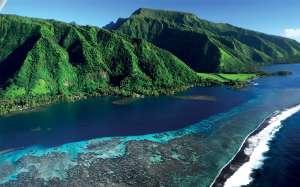 paysage polynesie