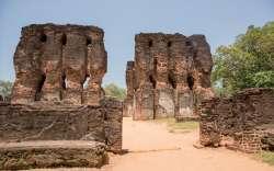 Ruines de Polonnaruwa au Sri Lanka