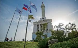 Monument aux héros de la restauration à Santiago de los Caballeros