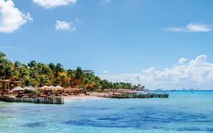 Restaurants et bars au bord de la Riviera Maya à Cozumel