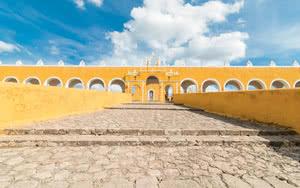 La ville jaune à Valladolid