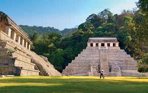 Site archéologique à Palenque