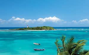 Plage du Gosier, paradis du snorkeling
