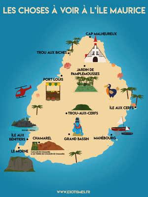 Carte Activités Ile Maurice