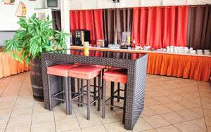 restaurant hotel karibea camelia residence