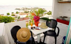 balcon hotel karibea camelia residence