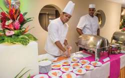 buffet Hôtel Karibéa Amyris