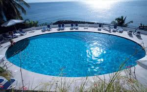 piscine vue mer martinique