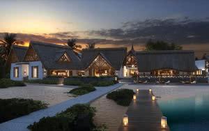 vue ext�rieur H�tel Preskil Island Resort