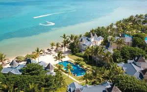 vue aerienne Heritage Le Telfair Golf & Wellness Resort