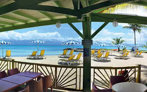 restaurant hôtel canella beach