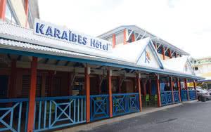 exterieur hotel karaibes