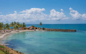 vue plage résidence prao