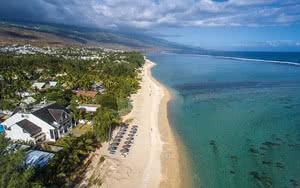 COMBINÉ 2 ILES : RÉUNION + ILE MAURICE Le Nautile Beachfront + Radisson Blu Azuri Resort & Spa 12 nuits