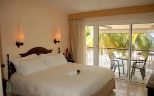 chambre luxe plage hotel martinique