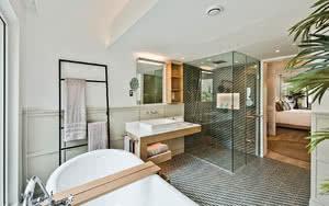salle de bain LUX* Grand Gaube