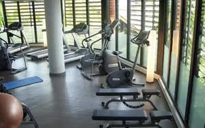 salle de sport hotel manava suite resort