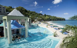 piscine hotel sandals regency la toc