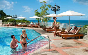 piscine hotel sandals regency la toc golf resort spa