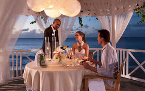 restaurant sandals regency la toc golf resort spa