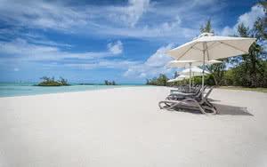 plage Hôtel Anahita The Resort