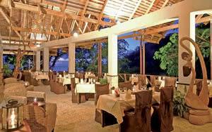 restaurant anse chastanet resort hotel