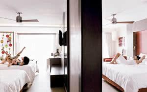 family junior suite premium level de l'hotel