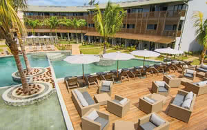 piscine terrasse be cosy appart'hotel