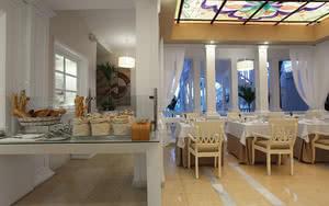 restaurant buffet de l'hotel