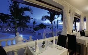 restaurant gourmet hotel luxury bahia principe samana