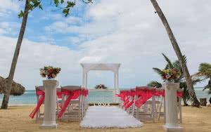 mariage hotel luxury bahia principe cayo levantado