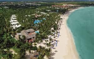 vue aerienne hotel republique dominicaine