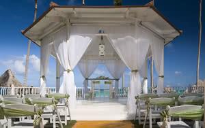 mariage hotel teh level at melia caribe