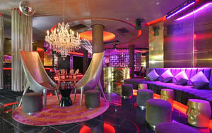 red lounge hotel paradisus palma real