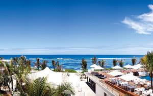vue mer Hôtel Radisson Blu Poste Lafayette Resort & Spa