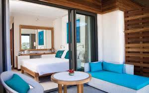 chambre terrasse Hôtel Radisson Blu Poste Lafayette Resort & Spa