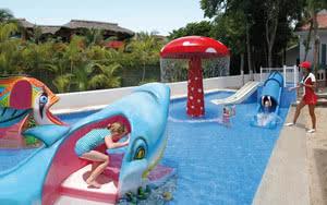 jeux aquatiques hotel riu yucatan