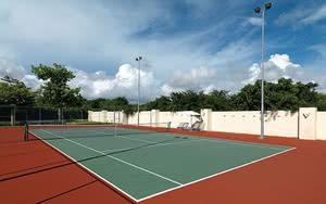 court tennis hotel family concierge at paradisus la esmeralda