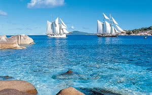 le sea pearl et le sea shell aux seychelles