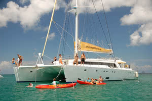 croisière catamaran seychelles