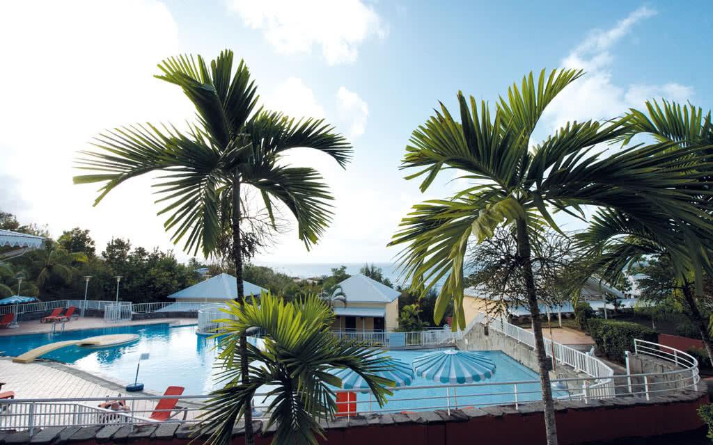 Martinique piscine hotel goelette Résidence La Goelette