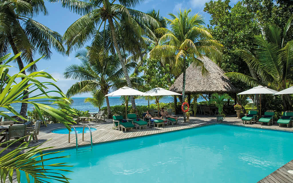 COMBINÉ 3 ILES : PRASLIN + LA DIGUE + MAHÉ Indian Ocean Lodge + La Digue Lodge + Valmer 10 nuits 3 *