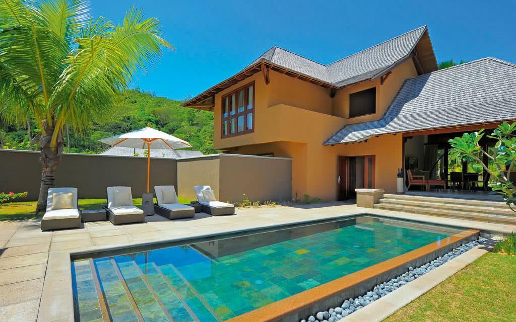 H tel constance ephelia seychelles 5 voyage seychelles for Villa de jardin mahe seychelles