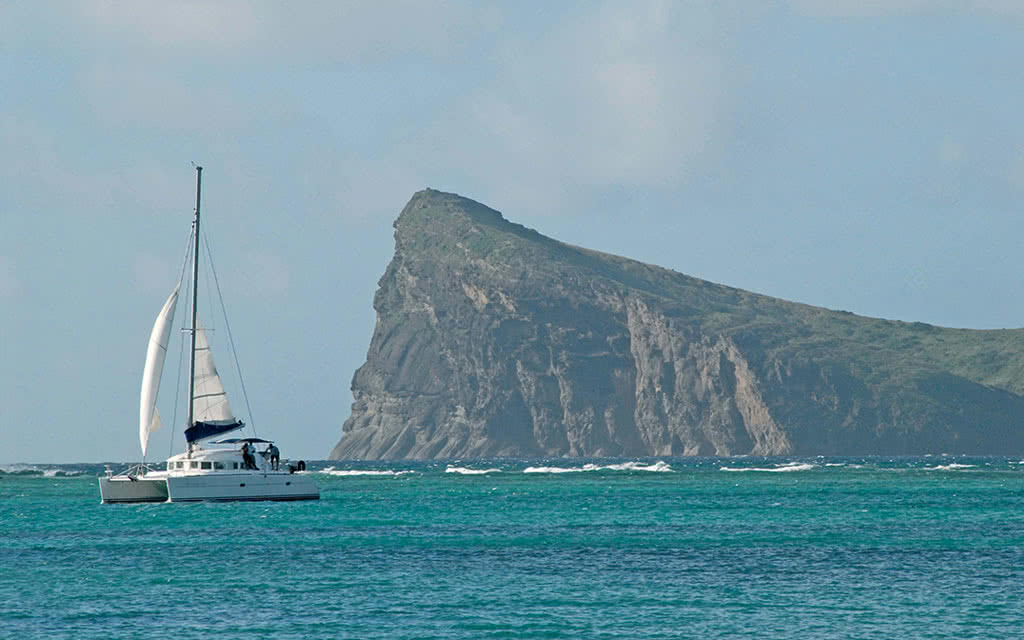 Croisière en Catamaran île aux Cerfs - île Maurice Côte Est